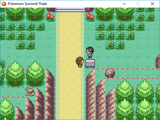 Pokemon Summit Trials Screenshot