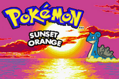 Pokemon Sunset Orange Screenshot