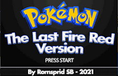 Pokemon The Last Fire Red Screenshot