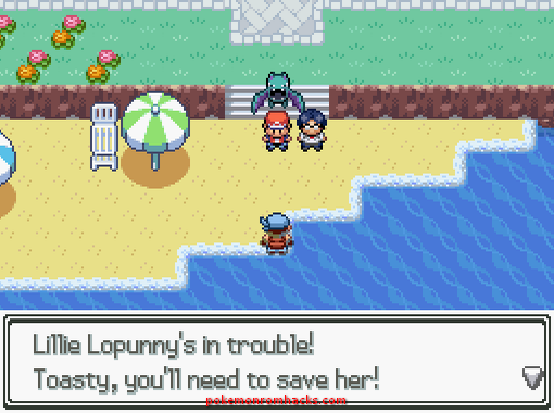 Pokemon: The Light in Our Hearts Screenshot