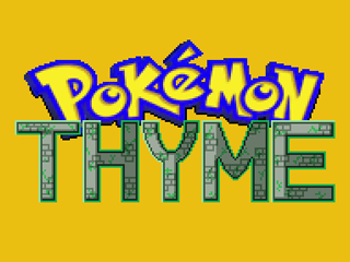 Pokemon Thyme Screenshot