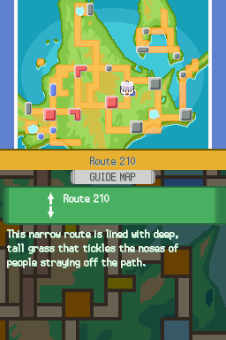 Pokemon Torn Platinum Version Screenshot