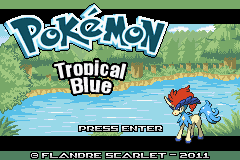 Pokemon TropicalBlue Screenshot