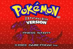 Pokemon Vaporeon Blue Screenshot