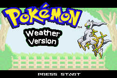 Pokemon Weather Version Screenshot