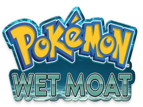 Pokemon Wet Moat Screenshot
