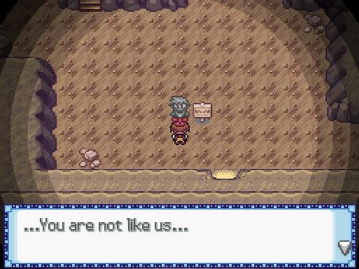 The Uxie Caves Screenshot